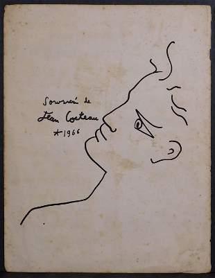 Jean Cocteau, Manner of: Portrait of a Man
