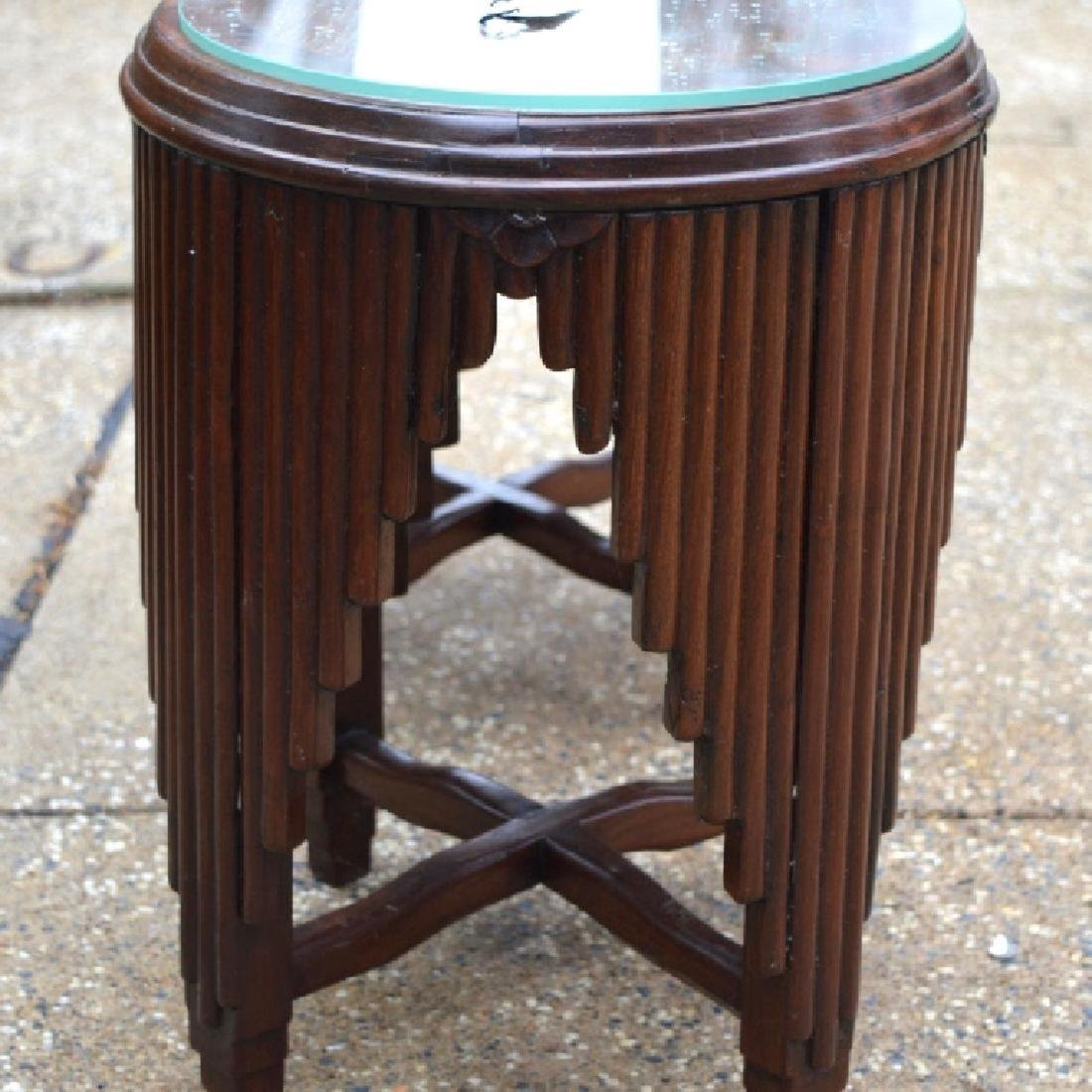 Sotheby's: Chinese Art Deco Hardwood Small Tables - 4