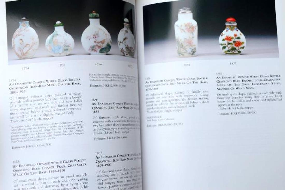 58 Books & Catalogues on Chinese Snuff Bottles - 11