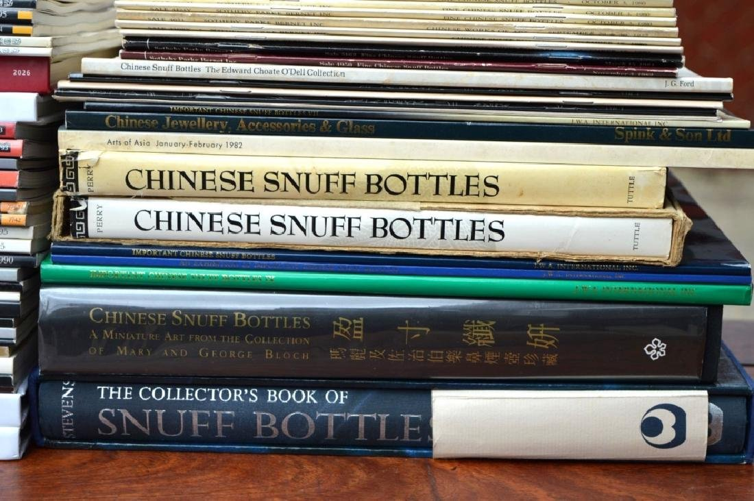 58 Books & Catalogues on Chinese Snuff Bottles - 2