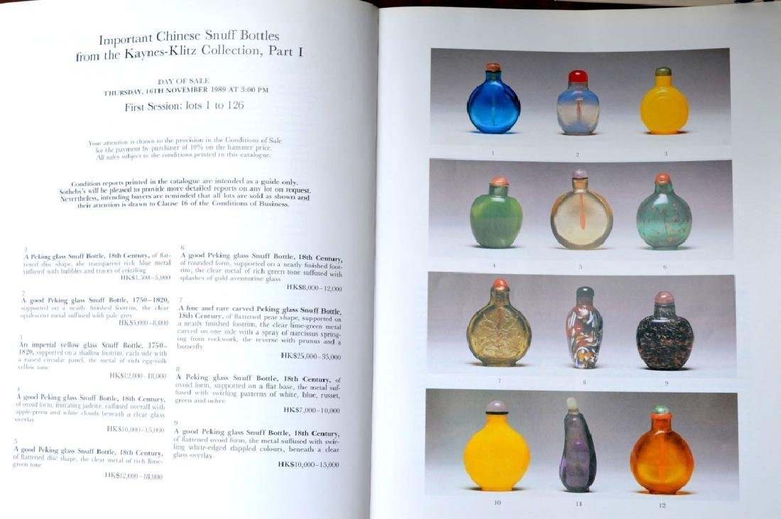58 Books & Catalogues on Chinese Snuff Bottles - 8