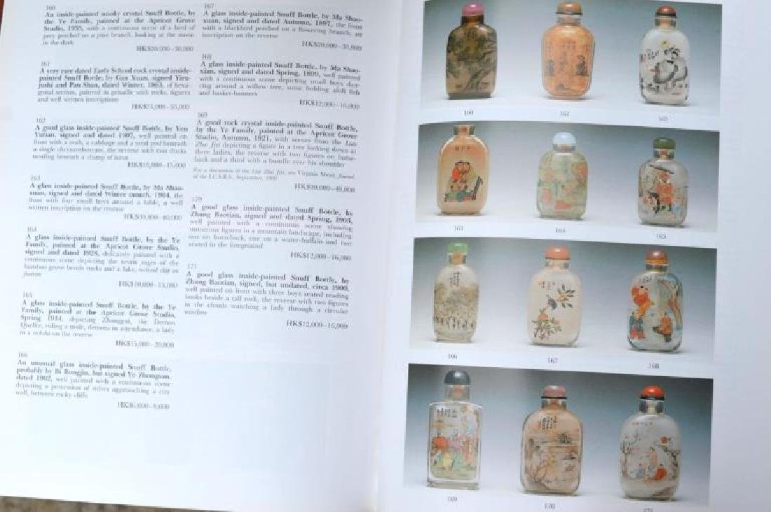 58 Books & Catalogues on Chinese Snuff Bottles - 9
