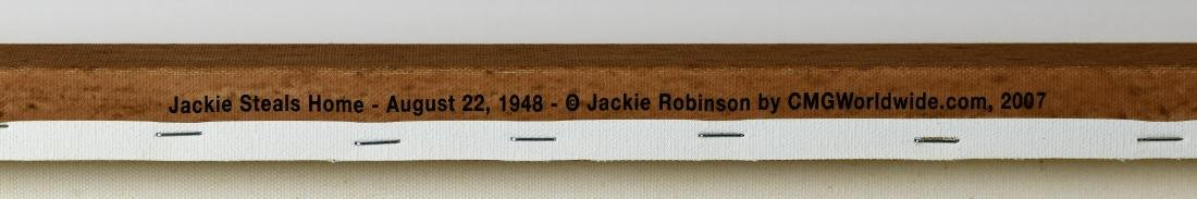 Jackie Robinson Steals Home Canvas - 3