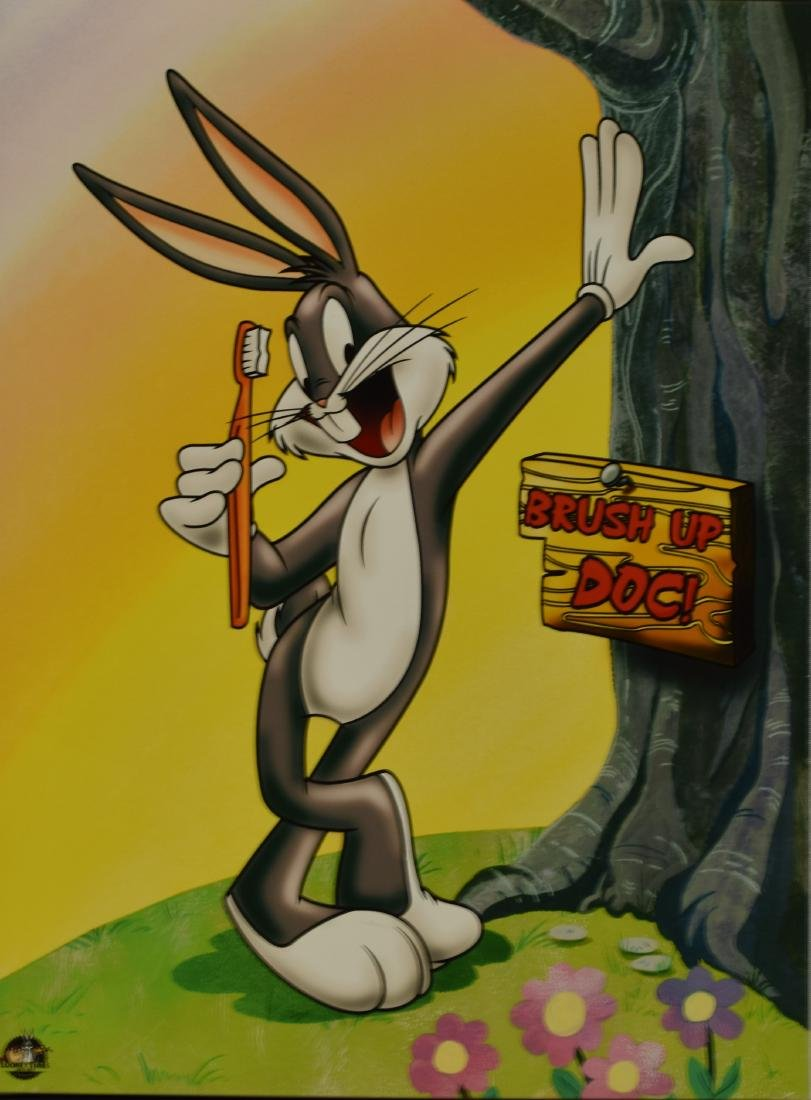 Warner Bros. Bugs Bunny - Brush Up Doc - Canvas