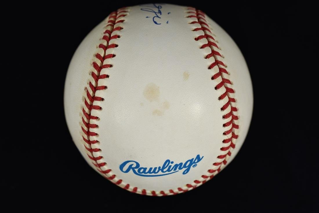 Joe DiMaggio Signed Ball-JSA - 2