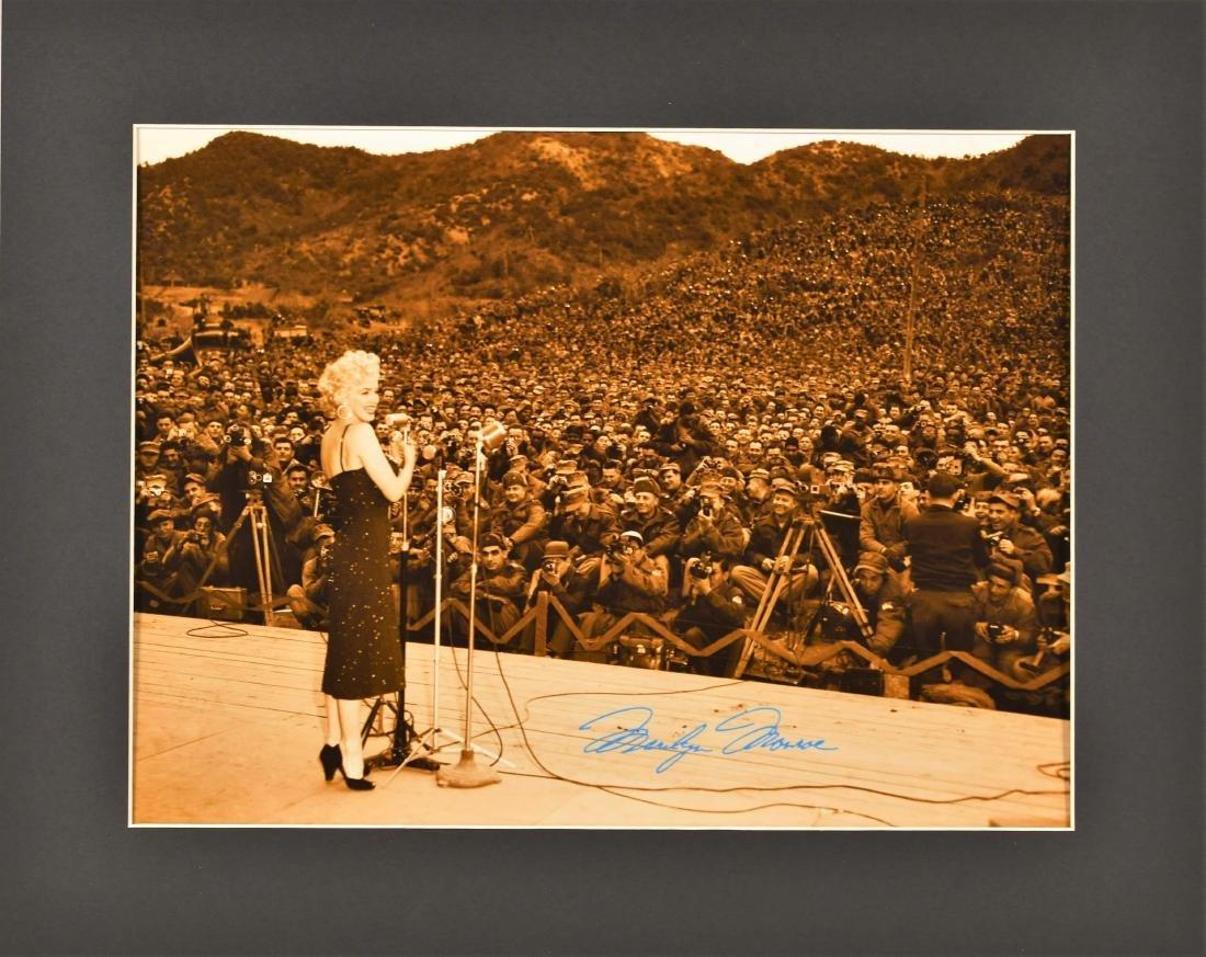 Marilyn Monroe -Troops - Fuji CrystalPhoto
