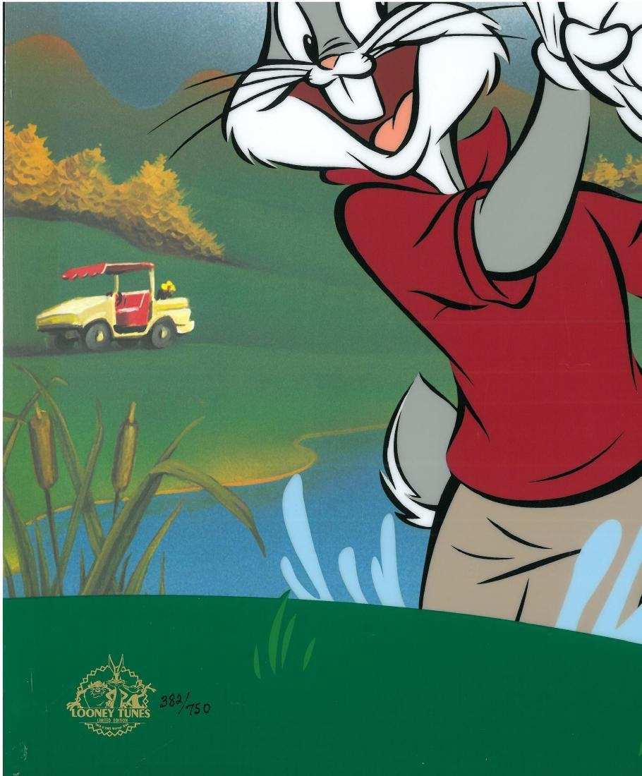 Warner Bros. LE Sericel-Bugs Bunny - Blastin Bugs - 2