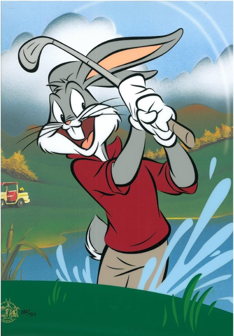 Warner Bros. LE Sericel-Bugs Bunny - Blastin Bugs - 4