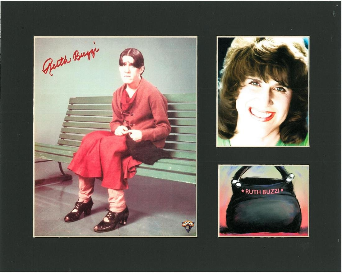 Ruth Buzzi Signed & Framed  Beatle Bailey -Signed - 5