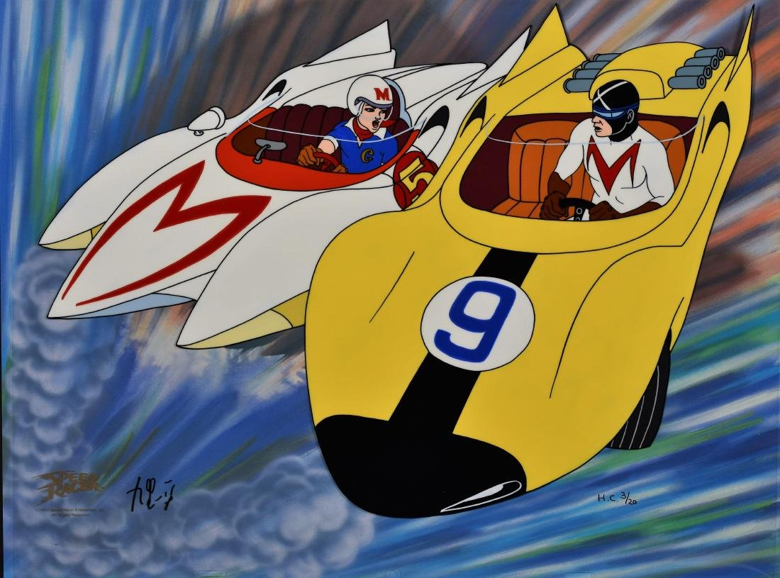 Speed Racer L.E. HP cel. Most Dangerous Race-signed