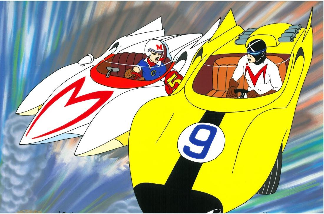 Speed Racer L.E. HP cel. Most Dangerous Race-signed - 2
