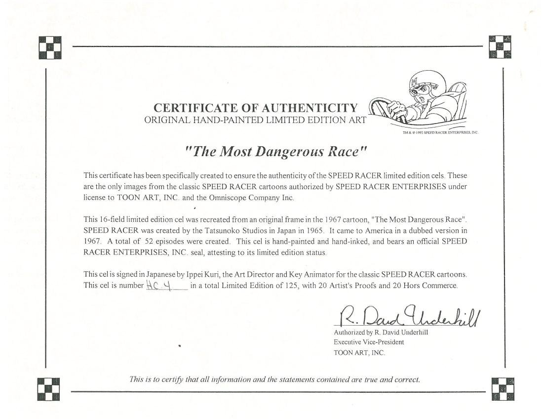 Speed Racer L.E. HP cel. Most Dangerous Race-signed - 5