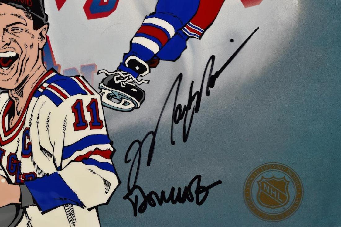 NY Ranger-Mark Messier signed LE HP Cel - 2