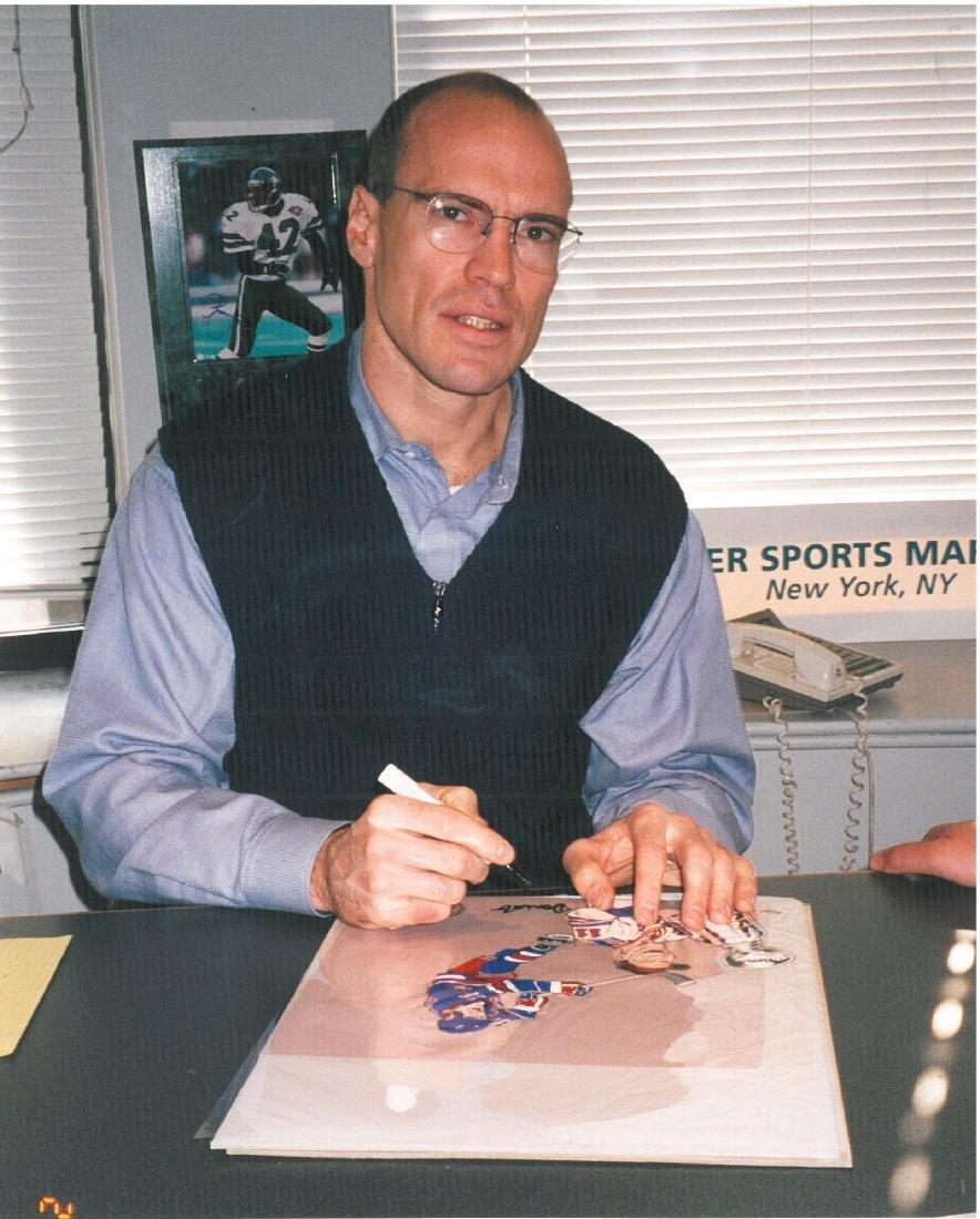 NY Ranger-Mark Messier signed LE HP Cel - 3