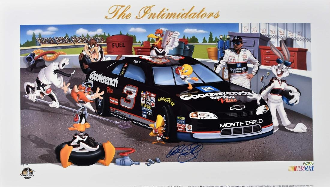 "Signed Dale Earnhardt Warner Bros. L.E.""The"