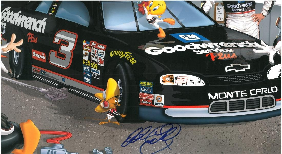 "Signed Dale Earnhardt Warner Bros. L.E.""The - 2"