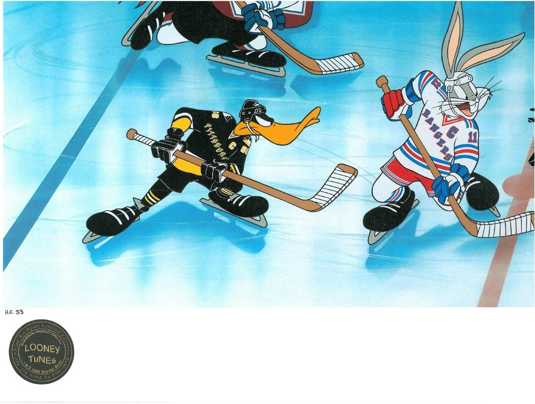 Warner Bros. L.E NHL Litho Toons Take the Ice - 3