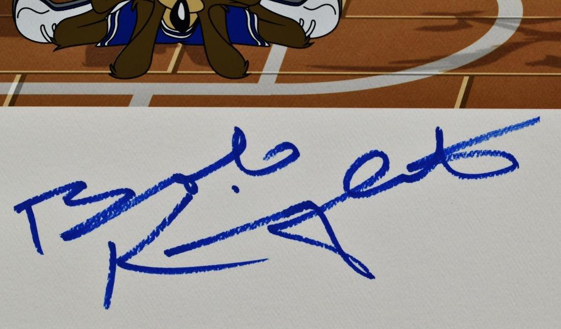 Warner Bros. L.E. IU Basketball Litho signed by Bobby - 2