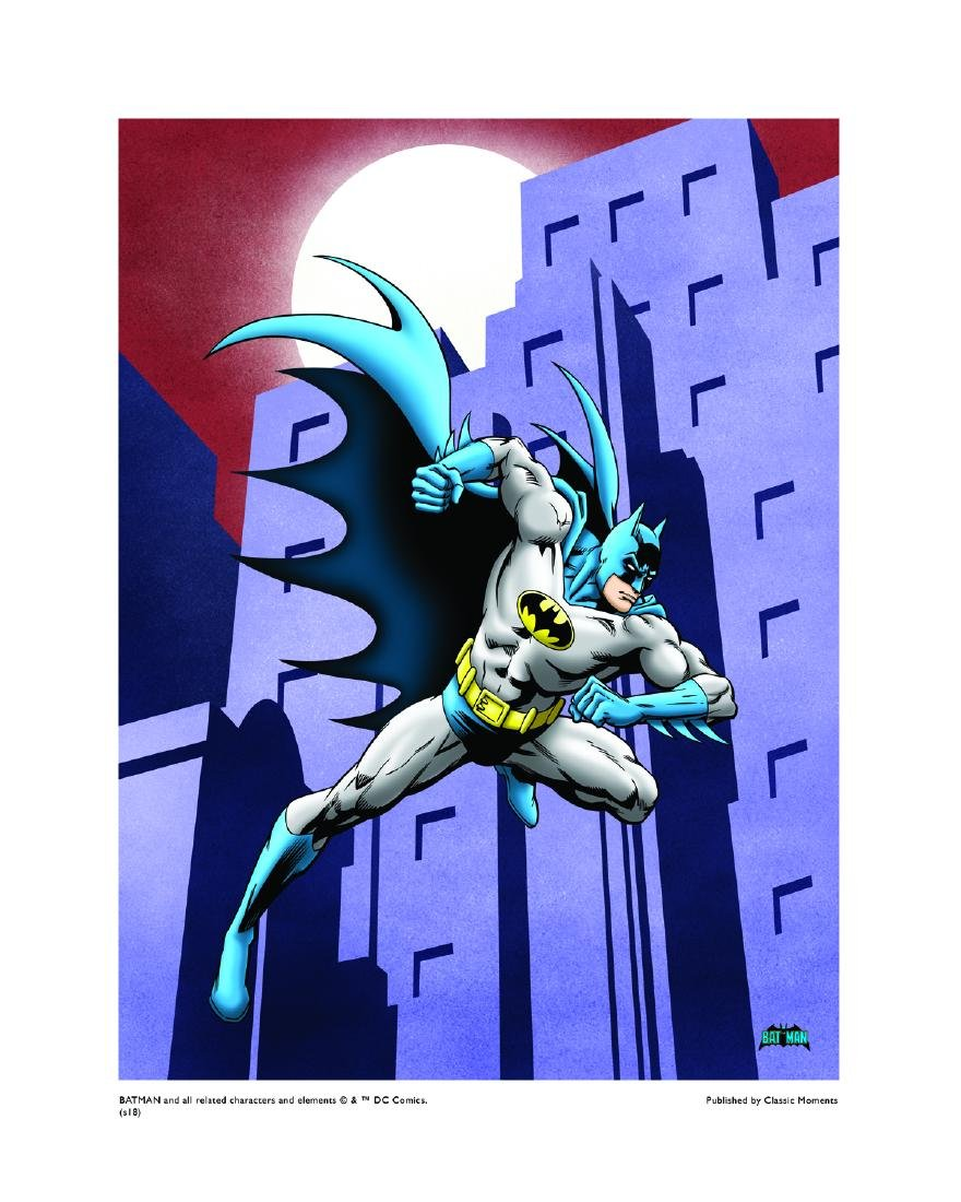 DC Comics Giclee - Batman Running LE