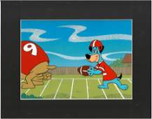 Hucklberry Hound -Hanna-Barbera Original Production Cel