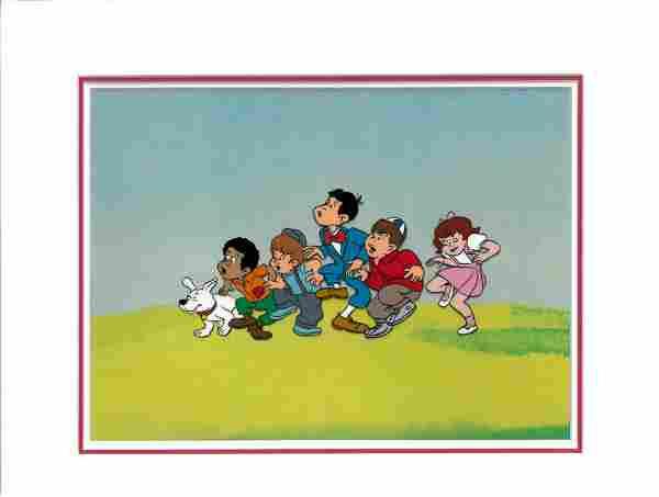 Little Rascals - Original Production Cel