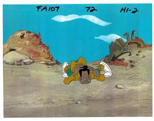 Harold - The Fat Albert Show - Original Production Cel