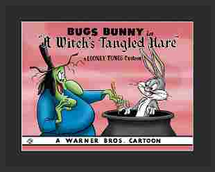 Warner Bros. Bugs Bunny and Witches Hazel Giclee