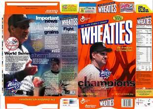 Wheaties - 1999 Joe Torre - Uncut