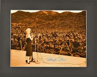 Marilyn Monroe Troops - Fuji Crystal Archival