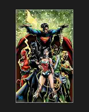 Justice League - DC - Fine Art Giclee