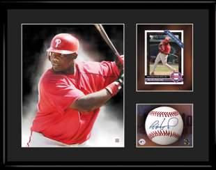 Ron Howard - Philadelphia Phillies - Framed Lithograph