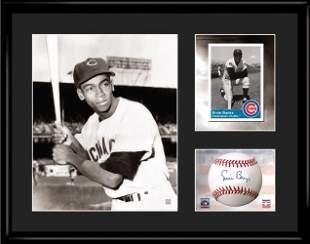 Ernie Banks - Chicago Cubs - Framed Lithograph