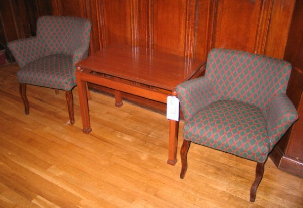 7: TABLE AND CHAIRS