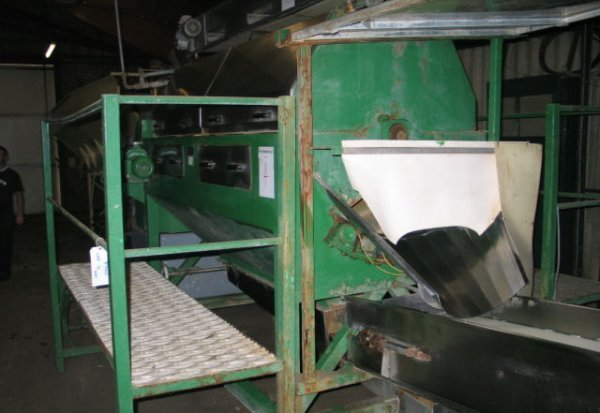 4: PPM drum washer (s/n 631) with gantry