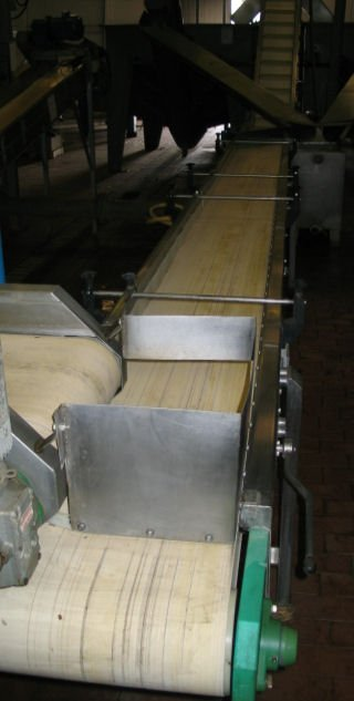 17: Sorting conveyor - neoprene belt 7.0m x 400mm wide