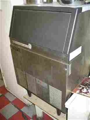 Scotsman AC-175 ice maker stainless steel