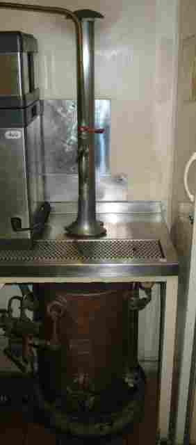 Stills copper hot water boiler stihl on draining ta