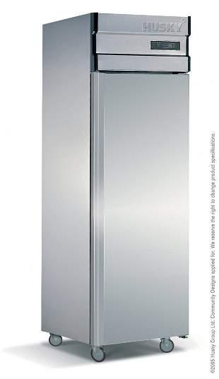 Single door Stainless Steel upright Fridge 450Ltr