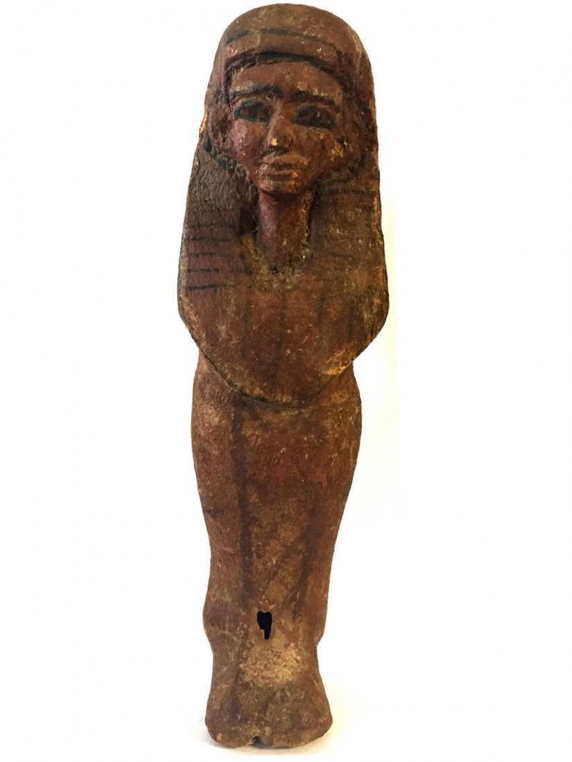 ANCIENT EGYPTIAN WOOD USHABTI