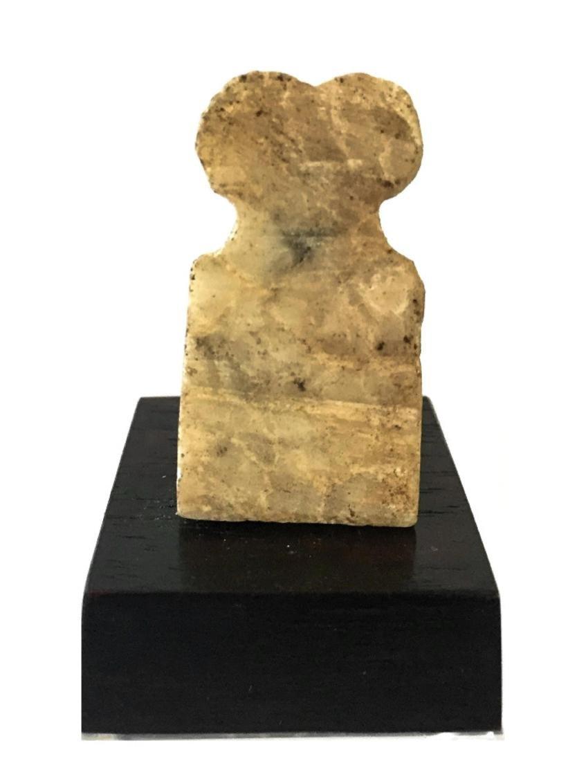 ANCIENT NEAR EASTERN TELL BRAK STONE EYE IDOLS - 2