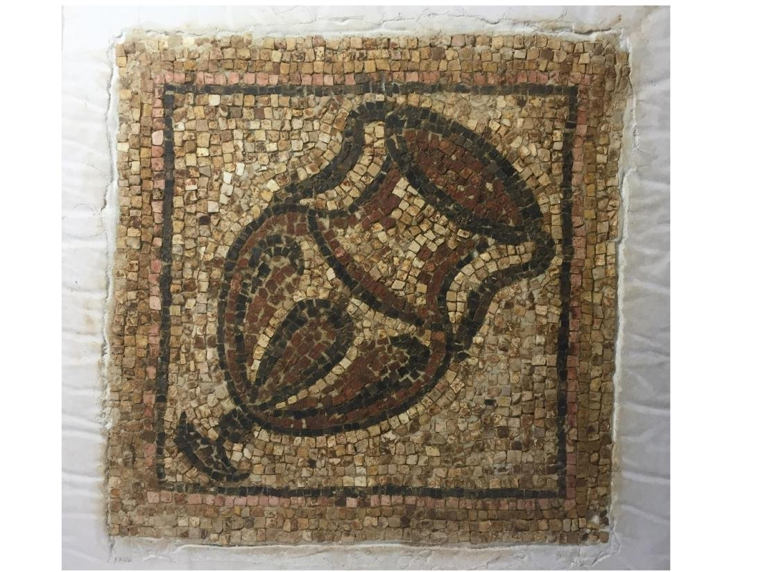 ANCIENT ROMAN EMPIRE MOSAIC FRAGMENT - 2