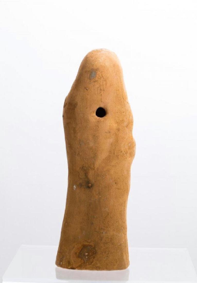 Ancient Romanhollow clay Female Idol - 2