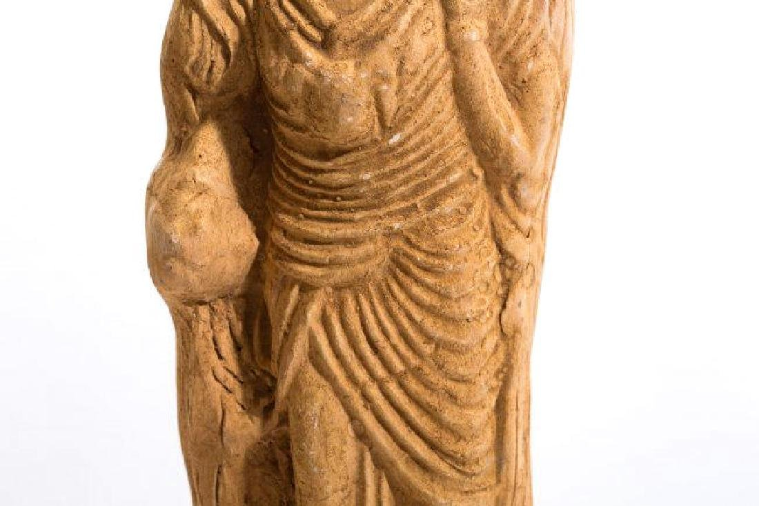 Ancient Romanhollow clay Female Idol - 3