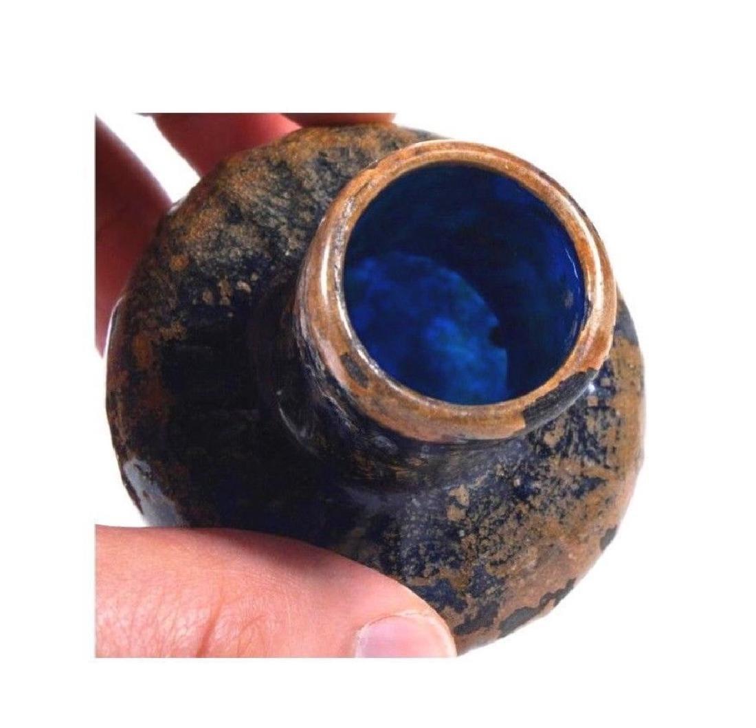 Ancient Roman Blue Glass jar - 3