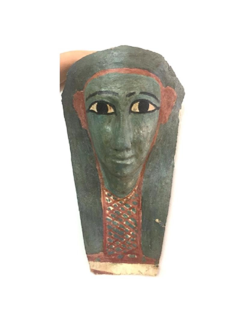 Ancient Egyptian Cartonnage Mask