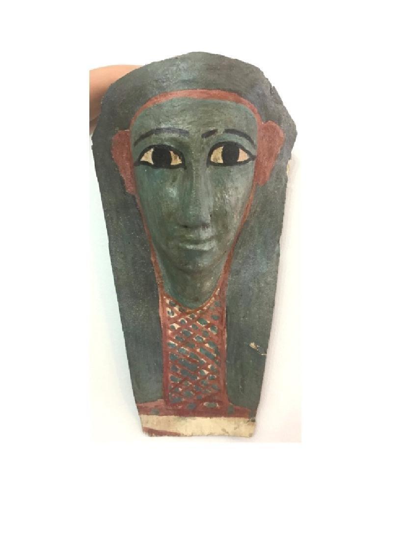 Ancient Egyptian Cartonnage Mask - 2