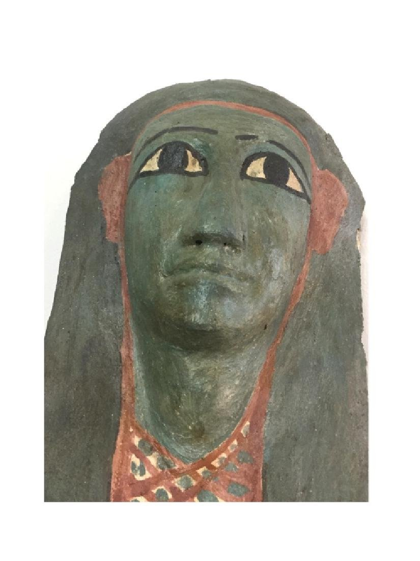 Ancient Egyptian Cartonnage Mask - 4