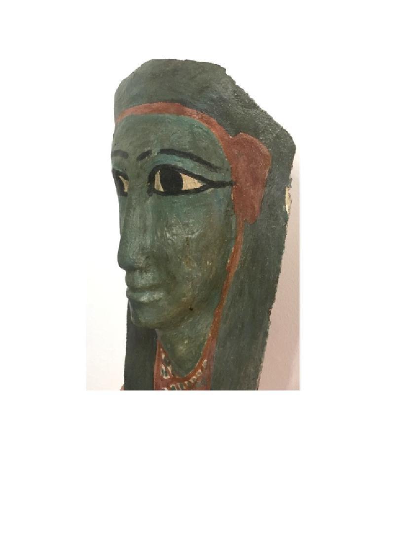 Ancient Egyptian Cartonnage Mask - 5