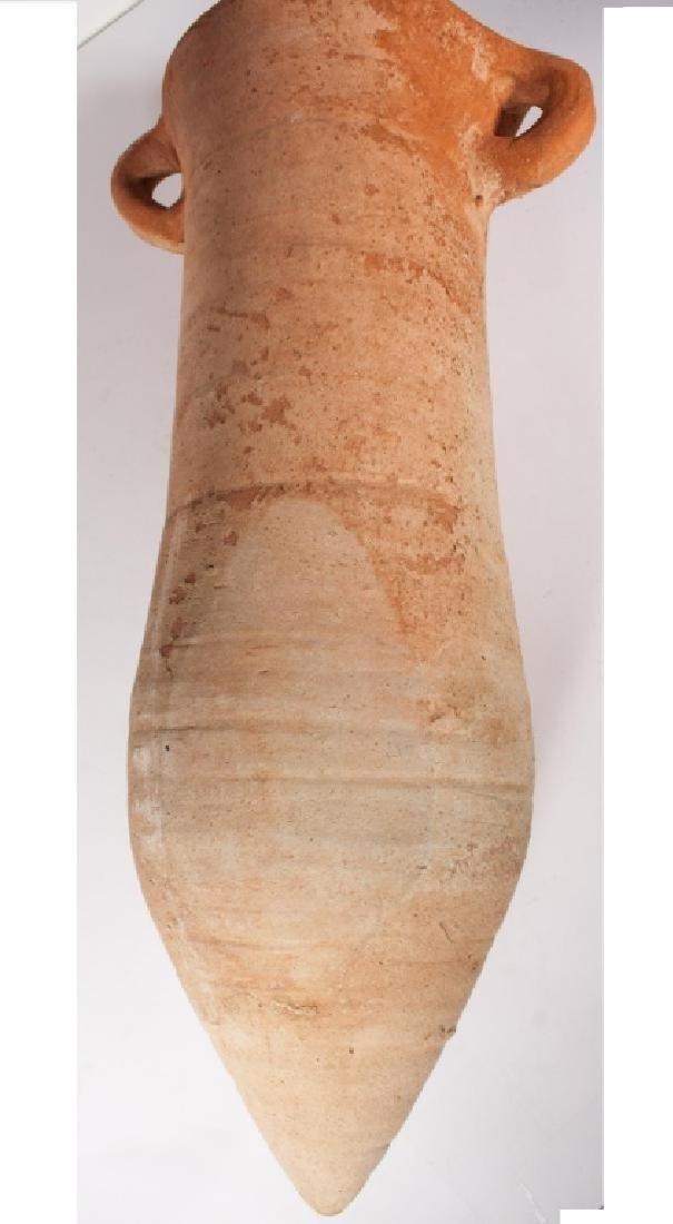 ANCIENT ROMAN TRANSPORT WINE AMPHORA - 3