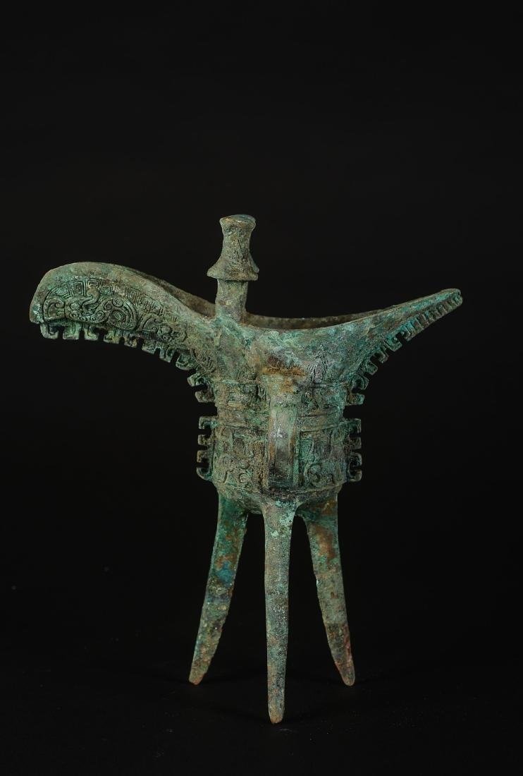"CHINESE ARCHAIC BRONZE VESSELS ""JUE"""